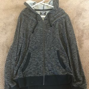 Express Zip up hoodie sweatshirt! Never worn!